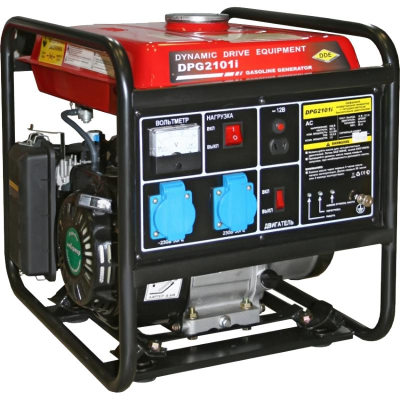 Бензиновый инверторный генератор Dde Dpg2101i инверторный цена 2017