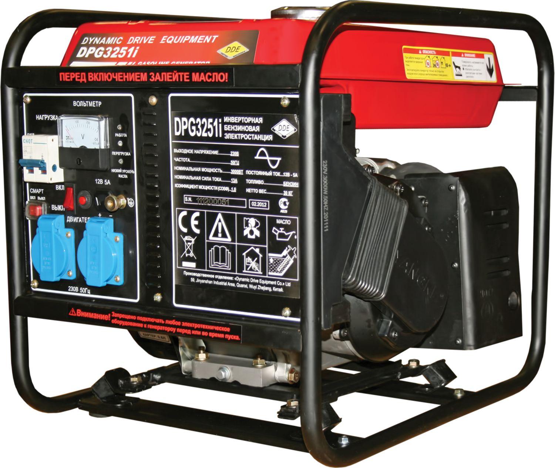 DPG3251i Бензиновый инверторный генератор DDE DPG3251i.