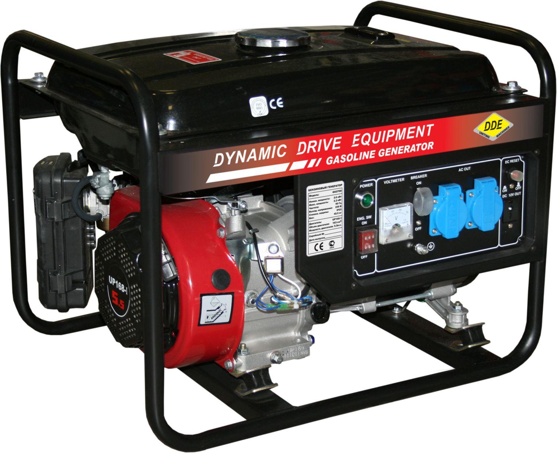 Бензиновый генератор Dde Gg2700 цена и фото