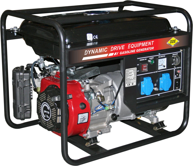 Бензиновый генератор Dde Gg3300 цена и фото