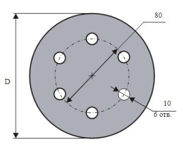 Круг шлиф. самосцепляющийся ЛУГА-АБРАЗИВ 150мм p100 6отв.