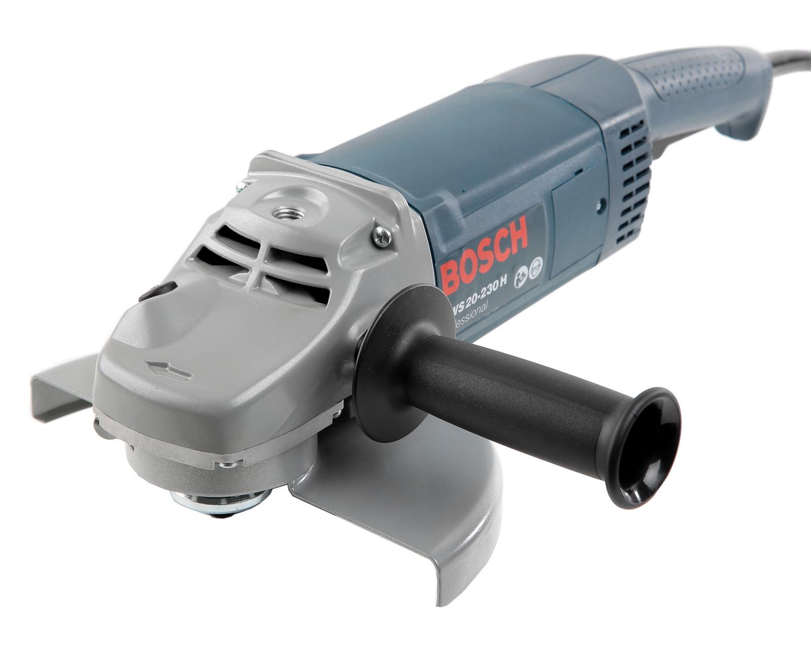 УШМ (болгарка) Bosch Gws 20-230 h (0.601.850.107) угловая шлифовальная машина bosch gws 20 230 h 0 601 850 107