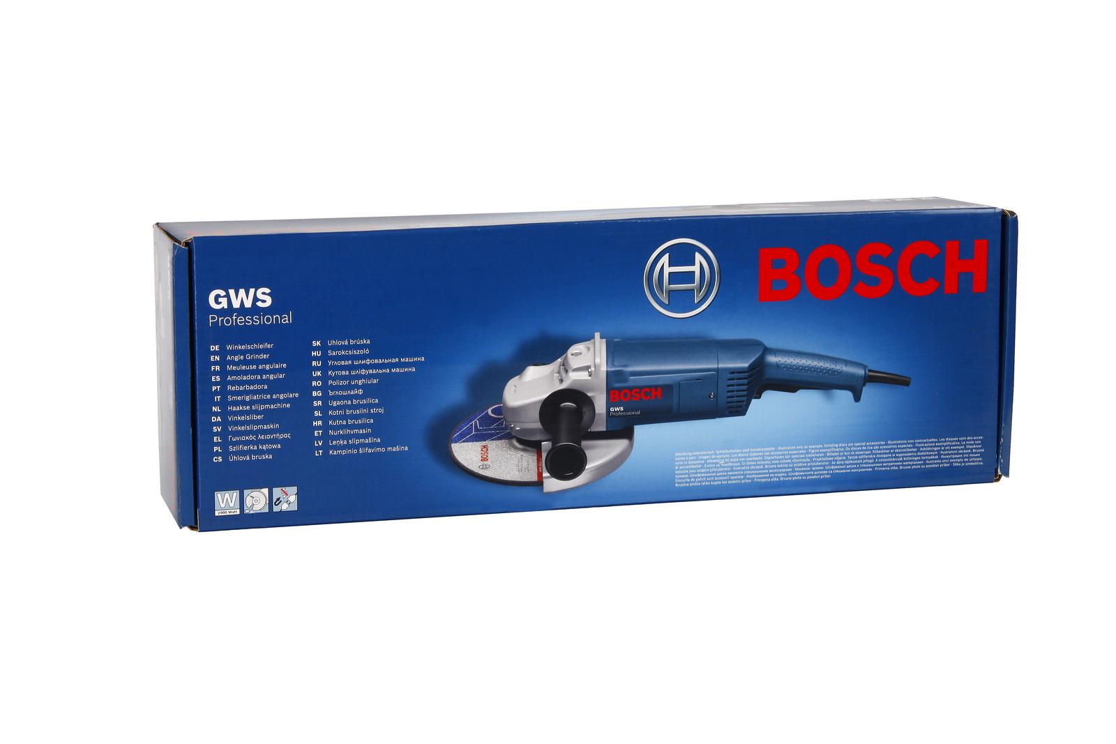 УШМ (болгарка) Bosch Gws 20-230 h (0.601.850.107)