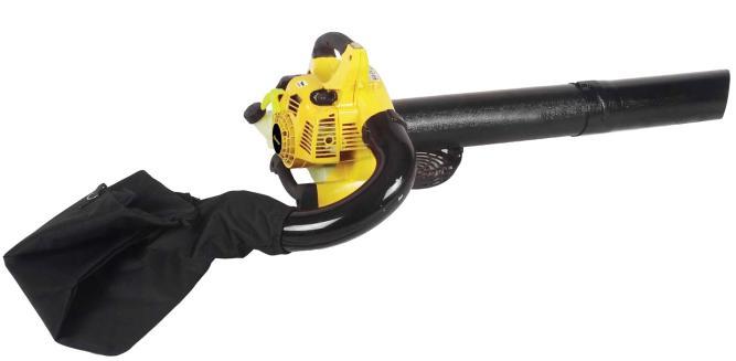 Бензиновая воздуходувка-пылесос Champion Gbv326s всасывющий бензиновый