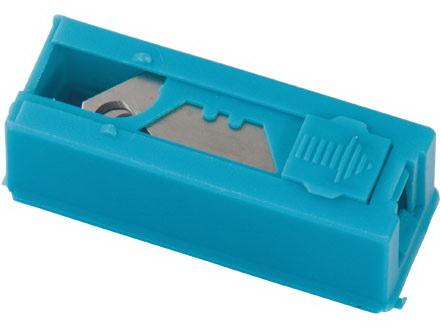 Нож строительный Gross 79379 19мм трапециевидные, крючкообразные, пластиковый кейс 12шт заклепочник усиленный gross 40409