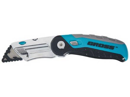 Нож строительный Gross 78882 заклепочник усиленный gross 40409