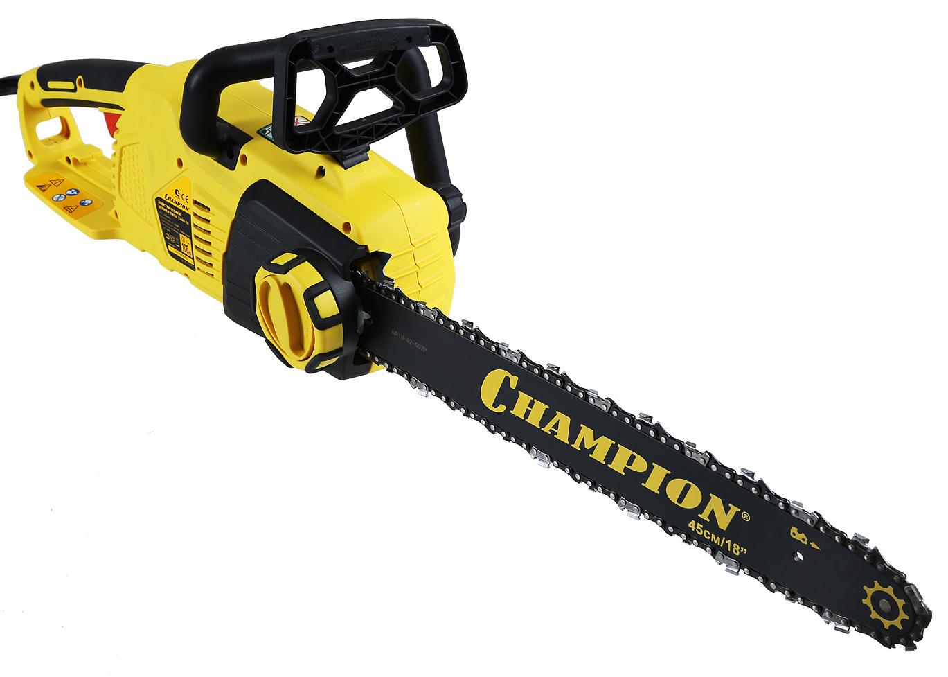 Пила цепная Champion 324n сумка для инструмента champion c1371 c215 для шины 18