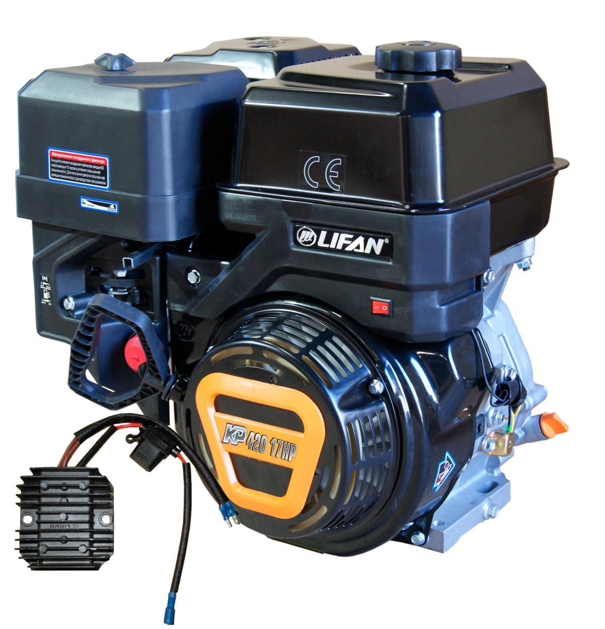 Двигатель Lifan Kp420 11А (190f-t 11А)