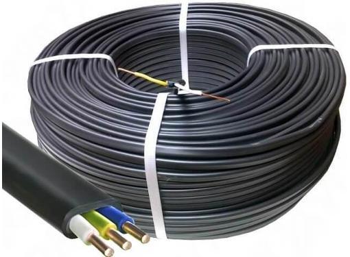 Кабель Нефтегорский кабельный завод ВВГнг 3x1.5мм2 ГОСТ (5м)