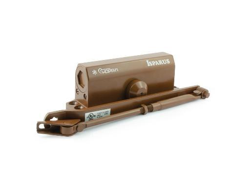 Доводчик дверной ISPARUS ISP 440 коричневый (17205)