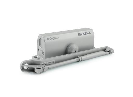 Доводчик дверной ISPARUS ISP 440 серый (17204)