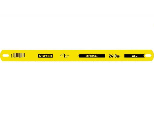 Полотно для ручной ножовки STAYER Duplex-XL (1590_z01)