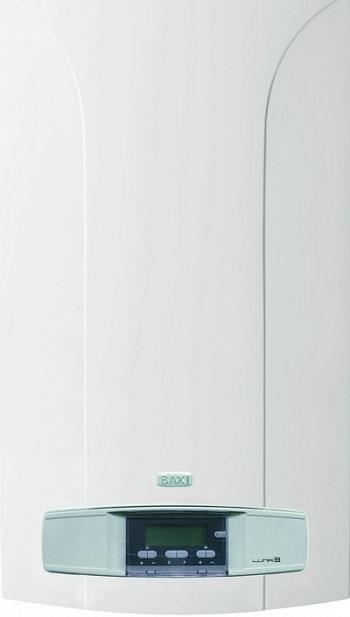 Двухконтурный настенный газовый котел Baxi Luna 3 310 fi бак рюкзак на дымоход
