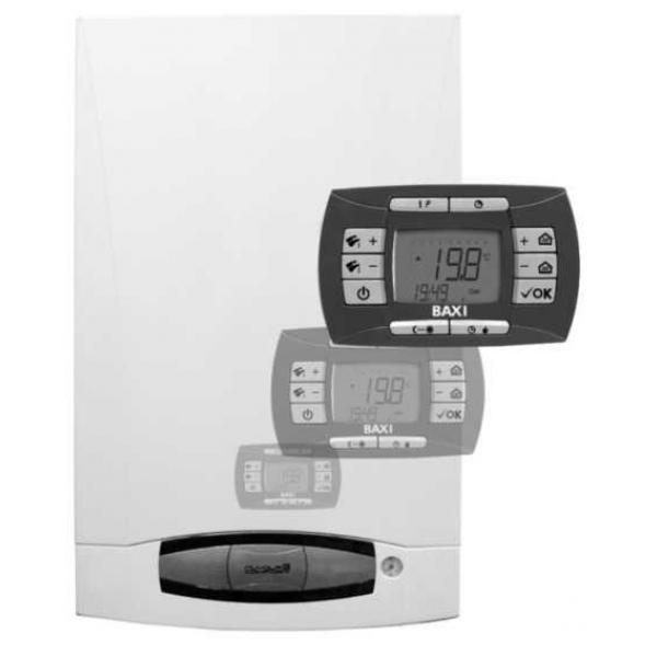 купить Котел отопления двухконтурный газовый Baxi Nuvola 3 comfort  240 fi