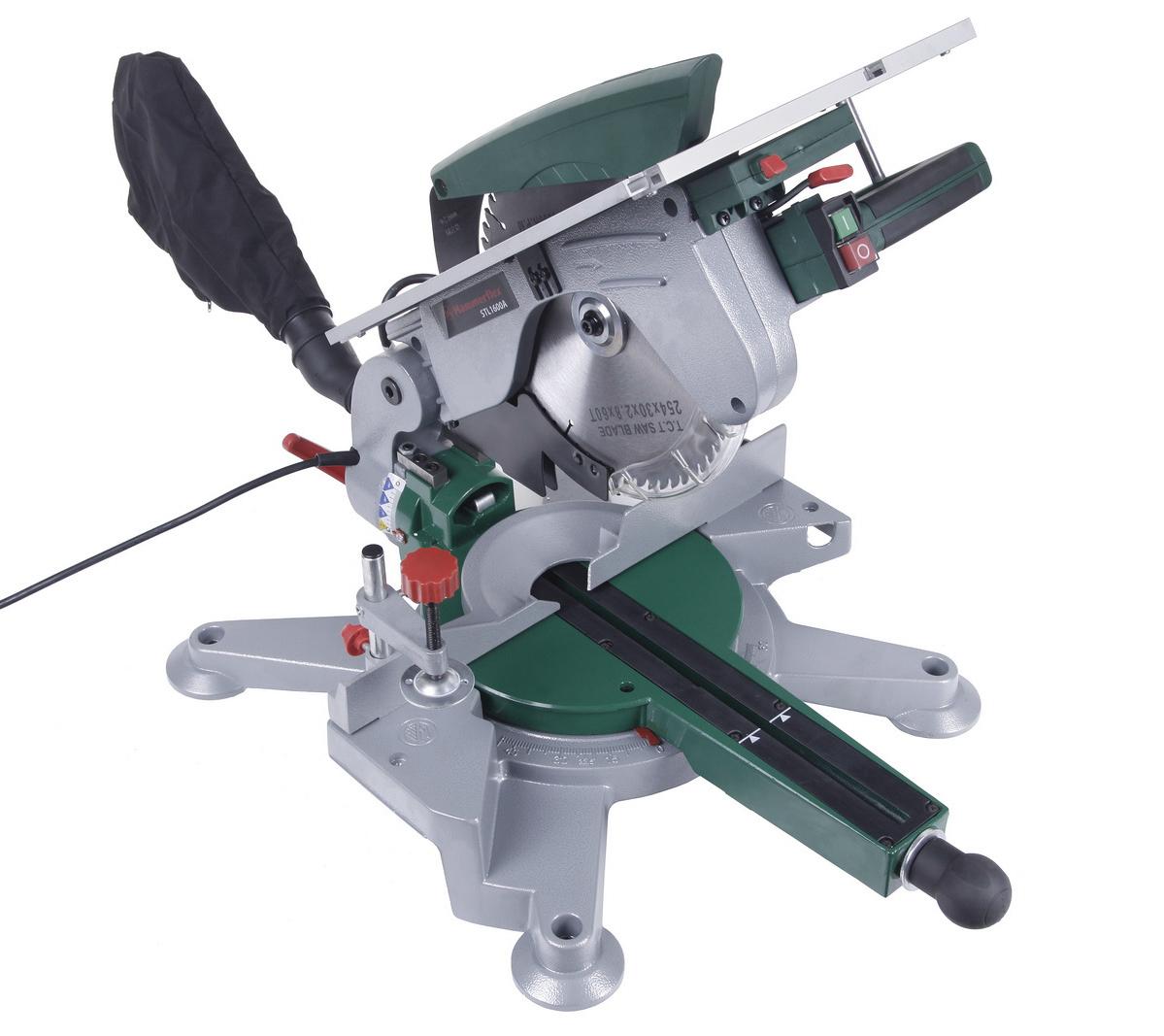 Комбинированная торцовочная пила Hammer Stl1600a