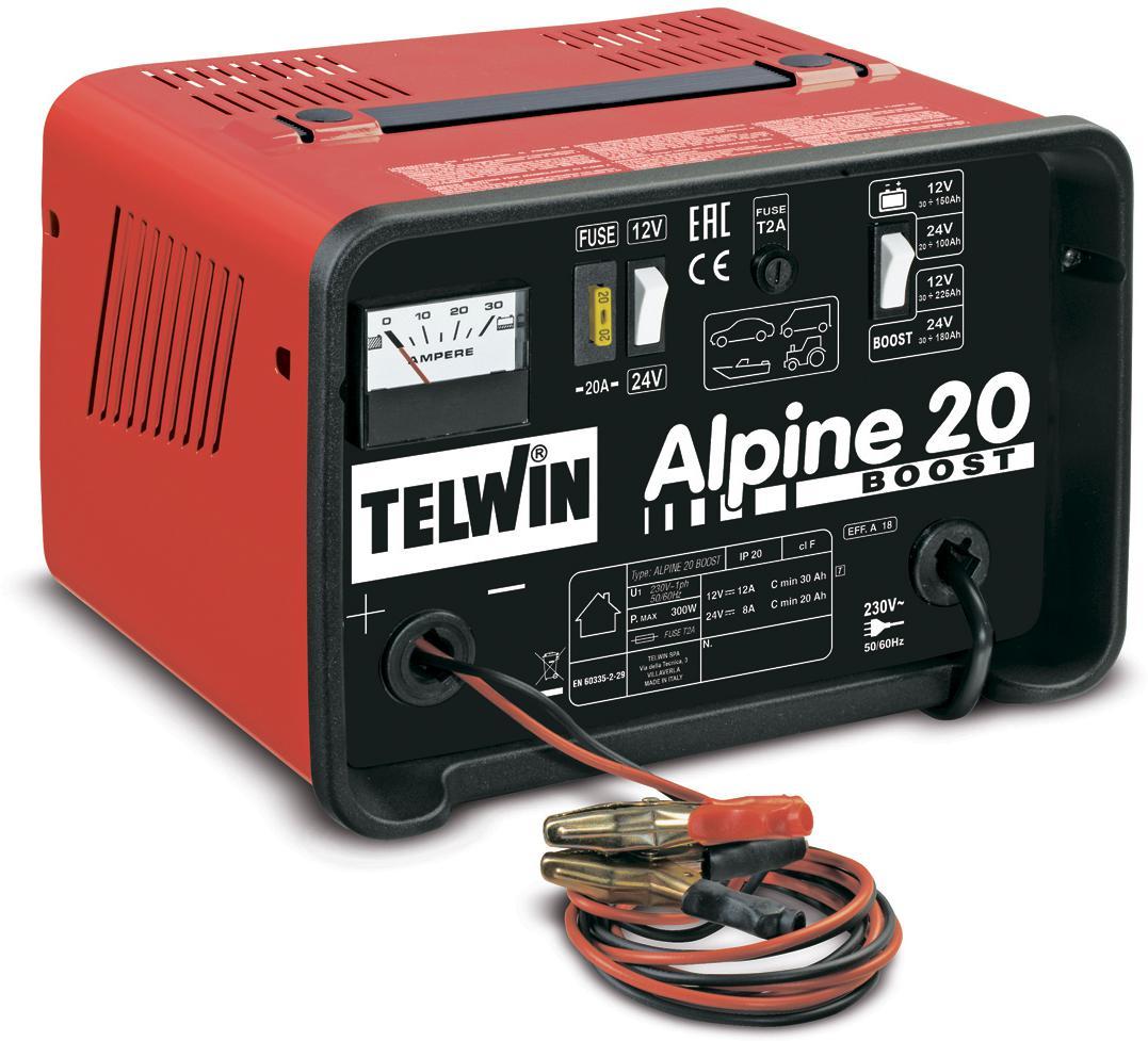 Подзарядное устройство для автомобильных аккумуляторов TELWIN ALPINE 20 BOOST.