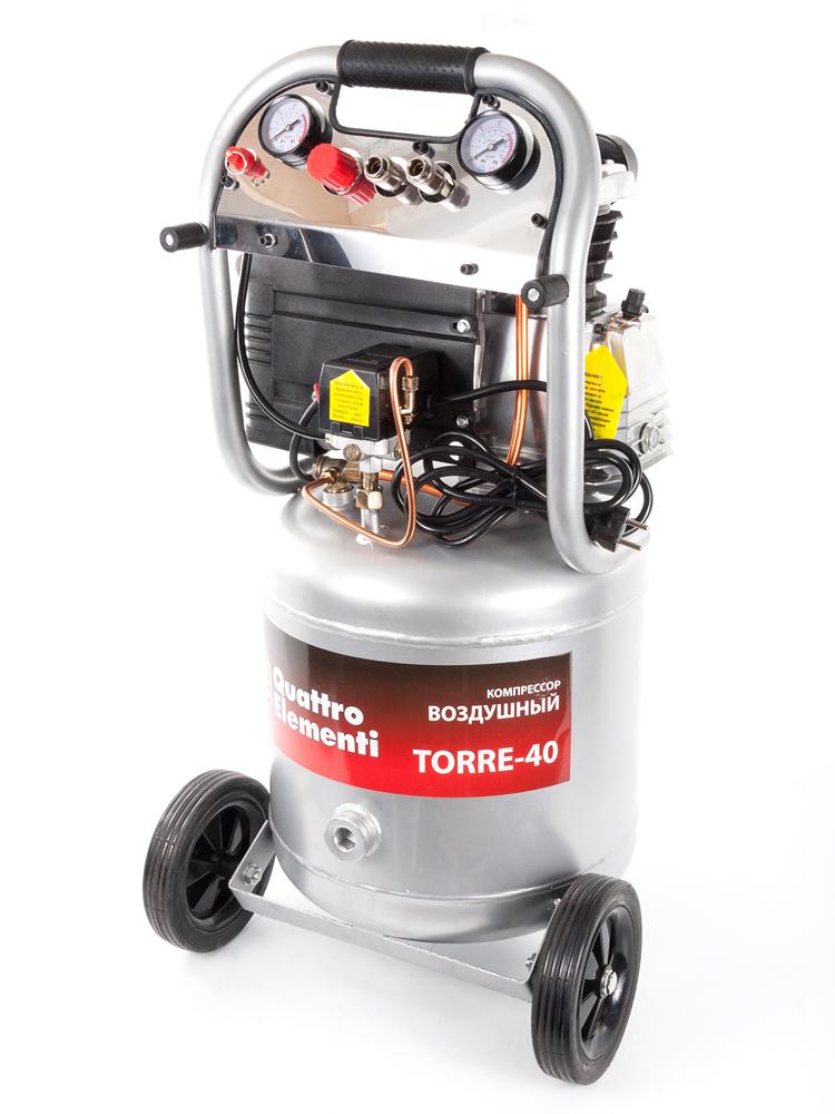 Компрессор поршневой Quattro elementi Torre-40