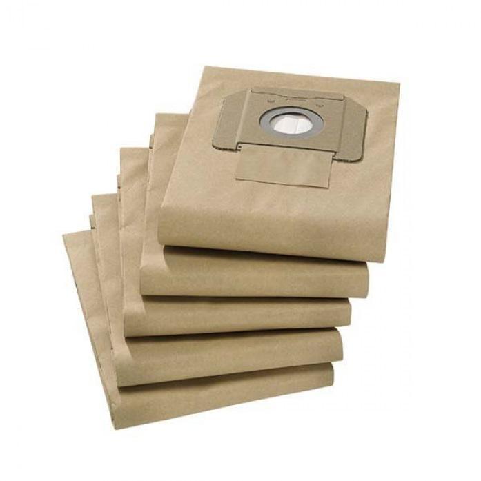 Мешок Karcher Пылесборник (6.904-285) 5шт мешок для пылесоса einhell 30л 5шт 2340000