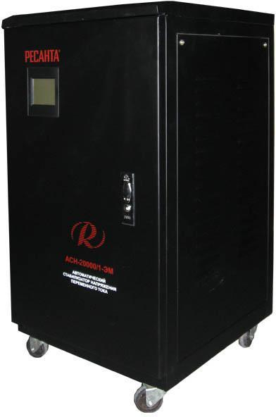 Стабилизатор напряжения РЕСАНТА АСН-20000/1-ЭМ стабилизатор напряжения ресанта асн 20000 3 эм