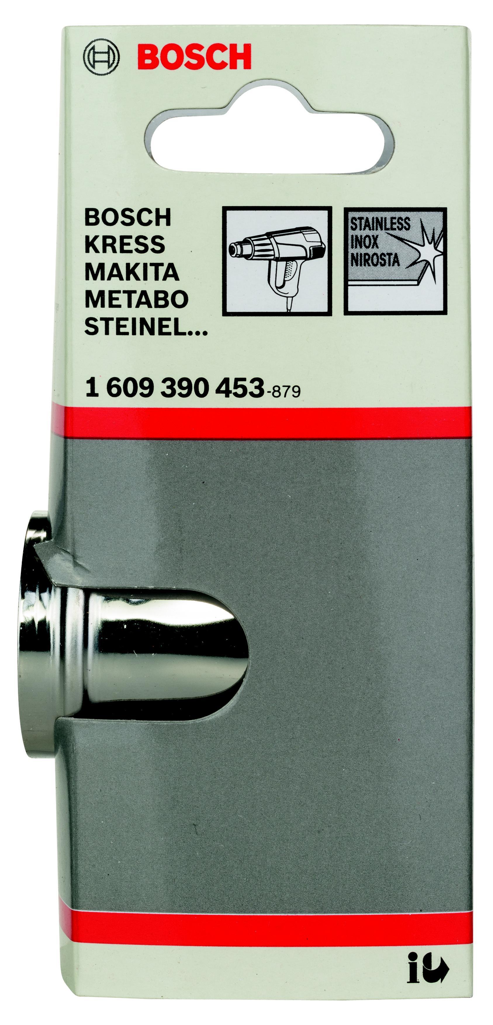 Насадка Bosch для фена - рефлекторное сопло (1.609.390.453) насадка для кухонного комбайна bosch muz8cc2