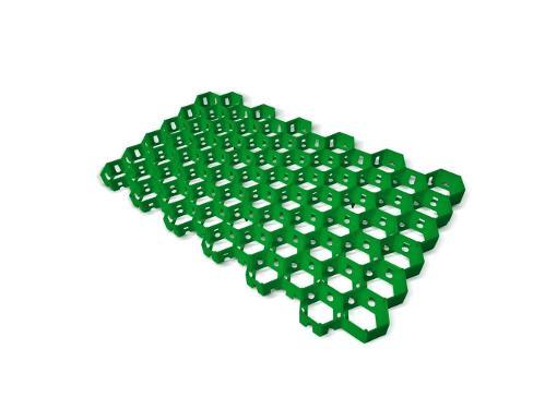 Газонная решетка ТРИКАП зеленая 68х42х40 см (830005)