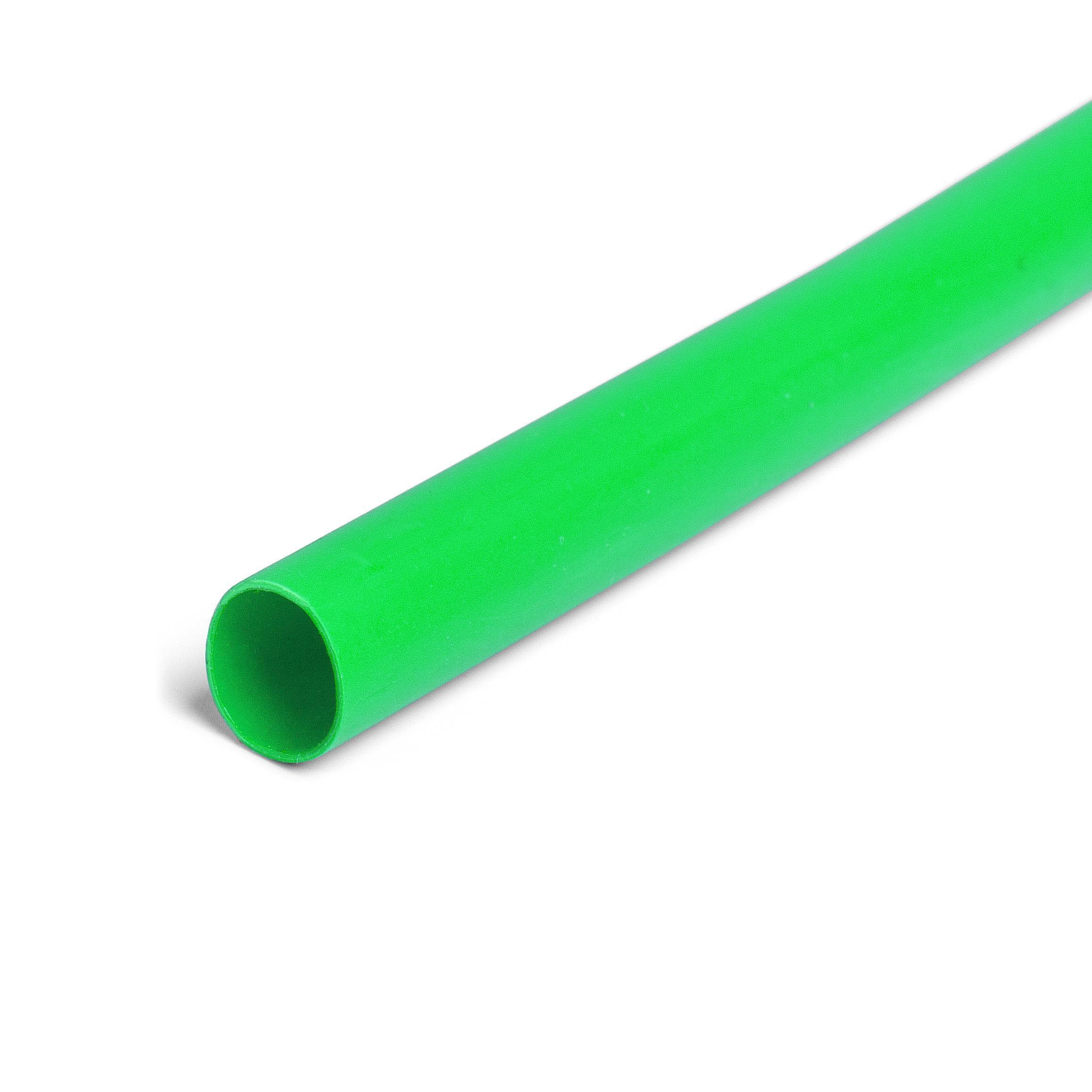 Термоусадочная трубка КВТ ТНТ Ф60/30мм 100см зеленый (83004 ТНТ 60/30)