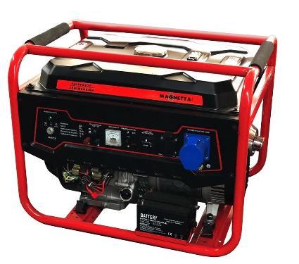 Бензиновый генератор MAGNETTA GFE6500N