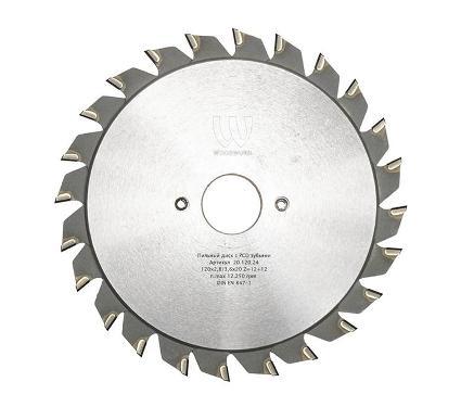 Диск пильный WOODWORK Ф120x20мм 24зуб. (20.120.24)