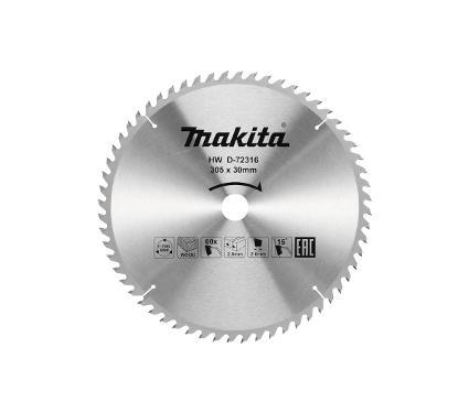Диск пильный MAKITA Ф305х30мм 60 зуб. (D-72316)