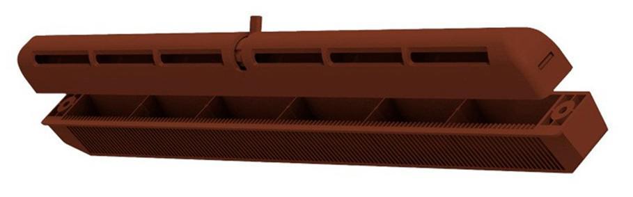 Проветриватель Vents ПО 400 коричневый (100000000329)