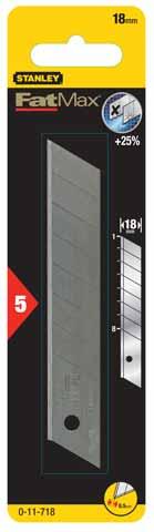 Лезвие для ножа Stanley Fatmax 0-11-718 лезвия для ножа stanley fatmax utility