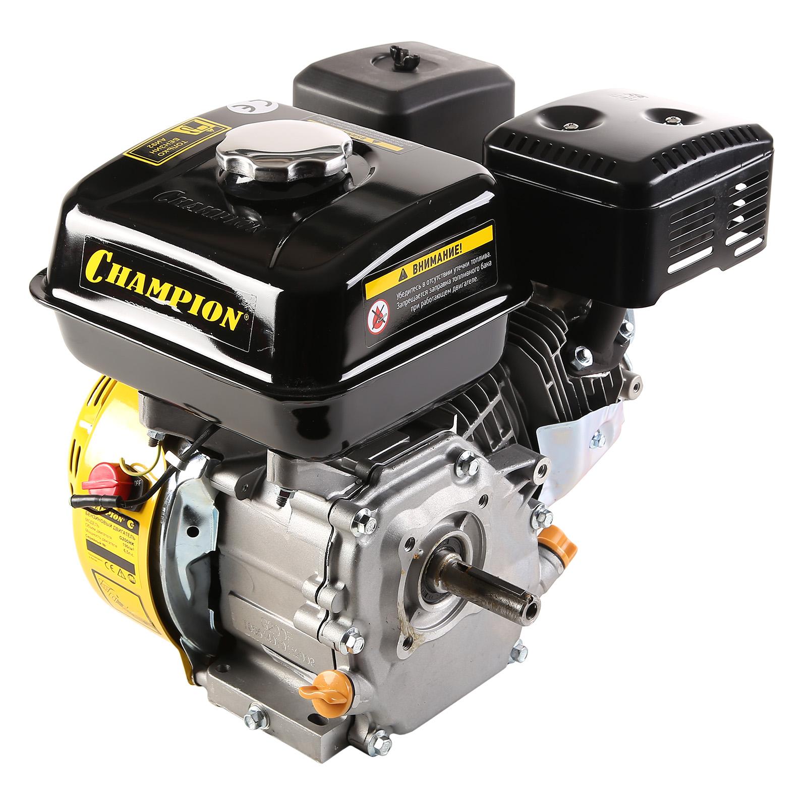Двигатель Champion G200hk домкрат белак бак 00038 50т