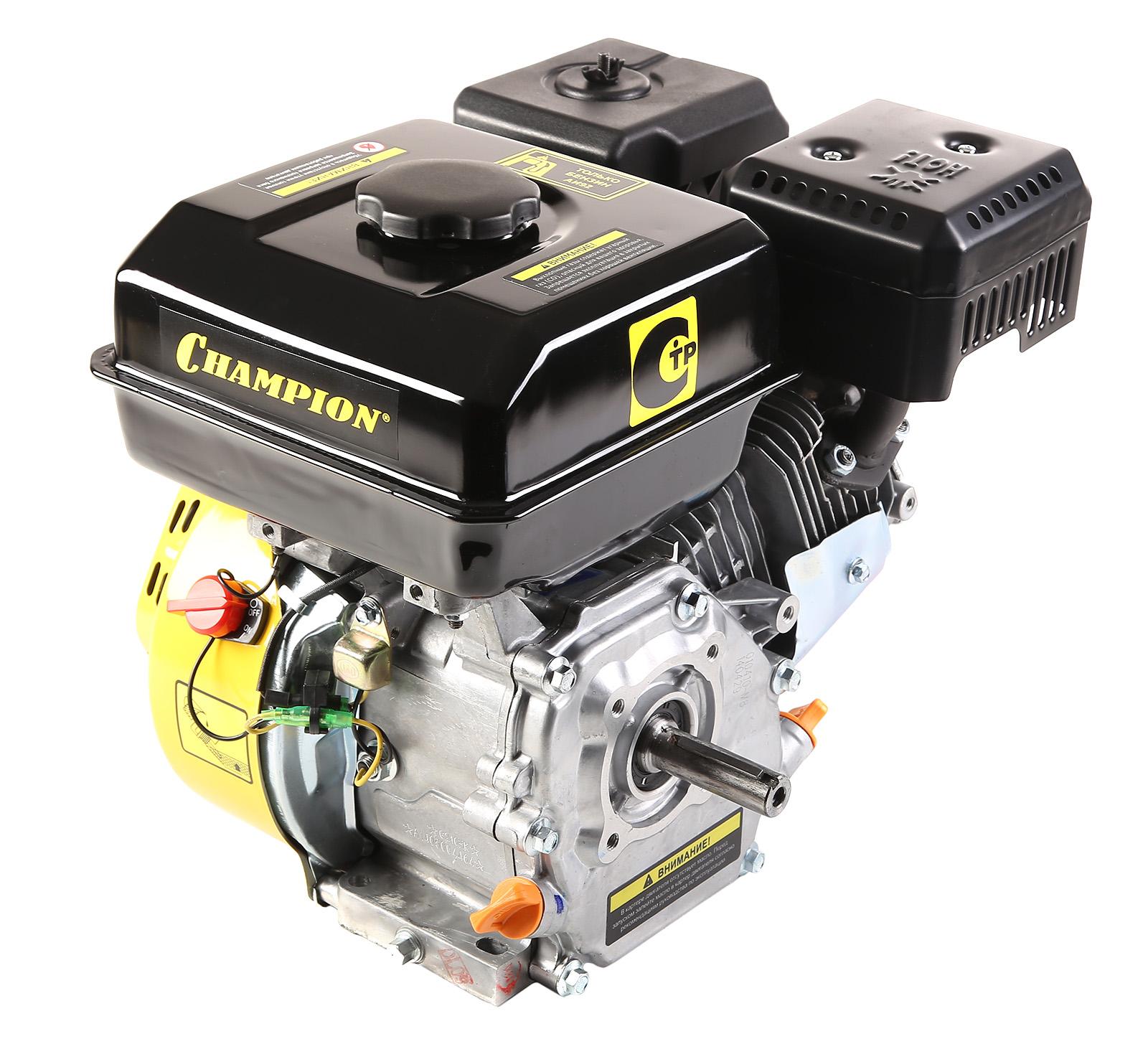 Двигатель Champion G210hk домкрат белак бак 00038 50т