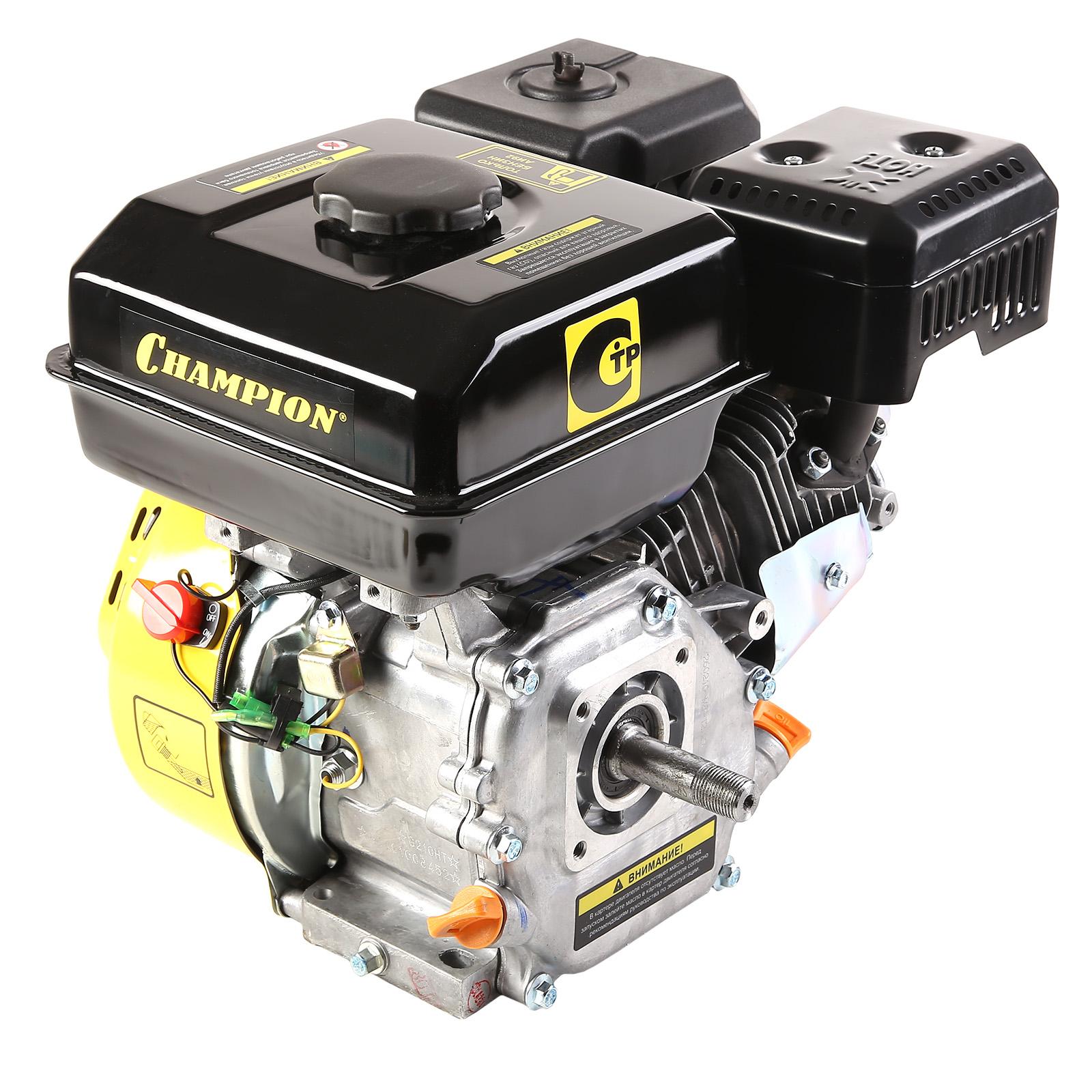 Двигатель Champion G210ht