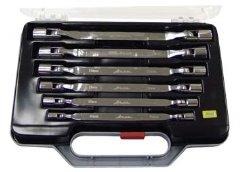 Набор ключей двусторонних с шарнирными торцевыми головками, 6 шт. Aist 0080306bk