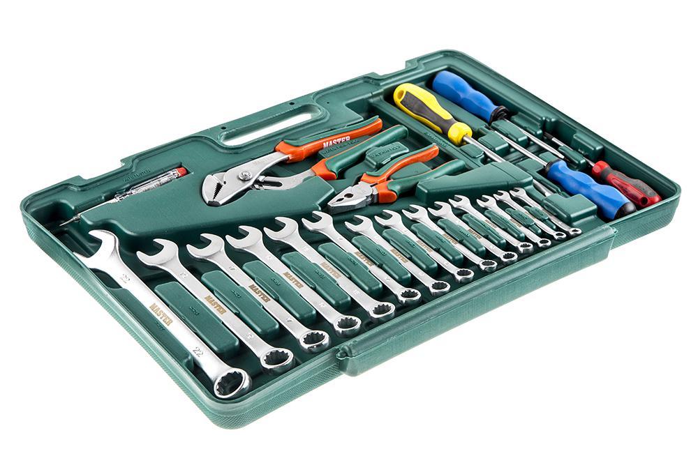 Набор инструментов Master 0-cu021-m набор инструментов master 507221b m