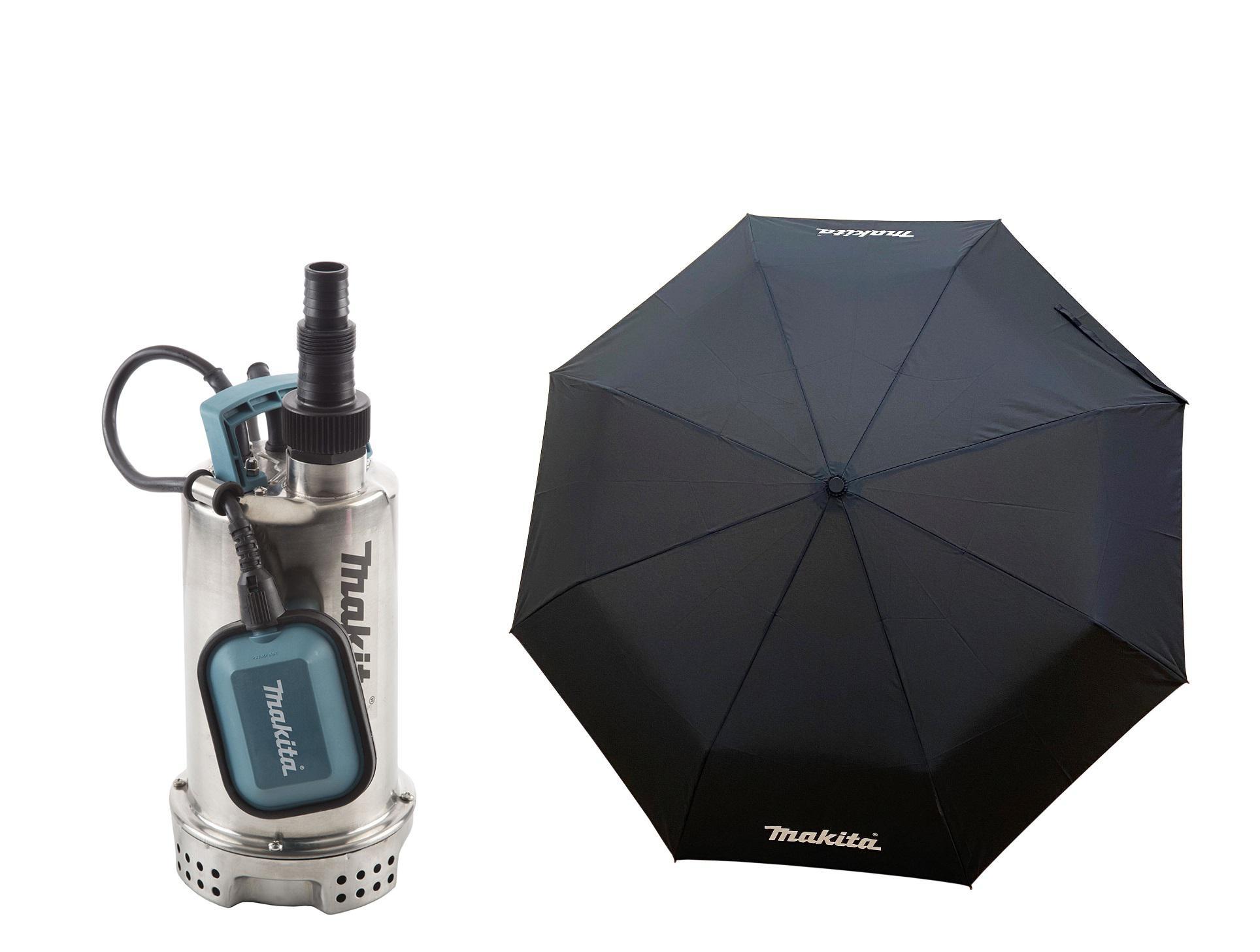 Набор Makita Дренажный насос pf1100 +Зонт складной pgh-180150