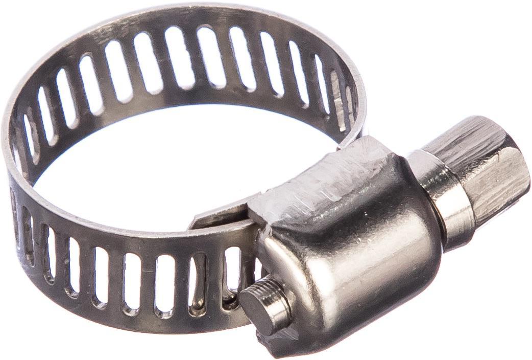 Обжимной хомут Quattro elementi 14-27 мм, нержав. сталь