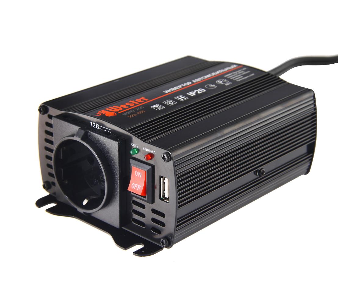Автомобильный инвертор WESTER MSW250