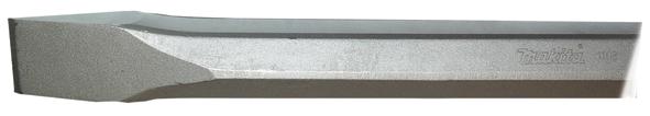 Зубило Makita Hex28,6 24 x 400 мм, плоское зубило зубр 29377 35 400 профессионал плоское для молотков hex 28мм 35х400мм
