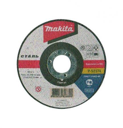 Круг отрезной Makita 115 x 3.2 x 22, по металлу круг отрезной hitachi а24 115 х 1 2 х 22 по металлу 50шт