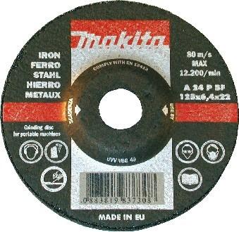 Круг зачистной Makita P-52320  230 x 6.5 x 22 аксессуар makita p 35879