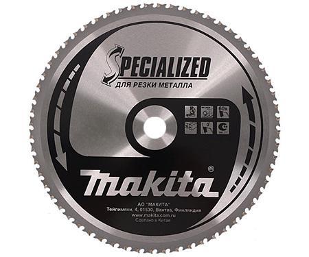 Диск пильный твердосплавный Makita 305 x 78 x 25.4 по металлу электроножницы по металлу makita jn1601