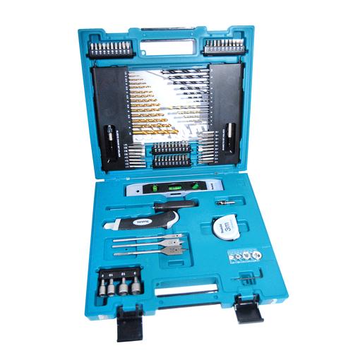 Набор бит и сверл Makita 104 предмета, в кейсе набор инструментов квалитет нир 104