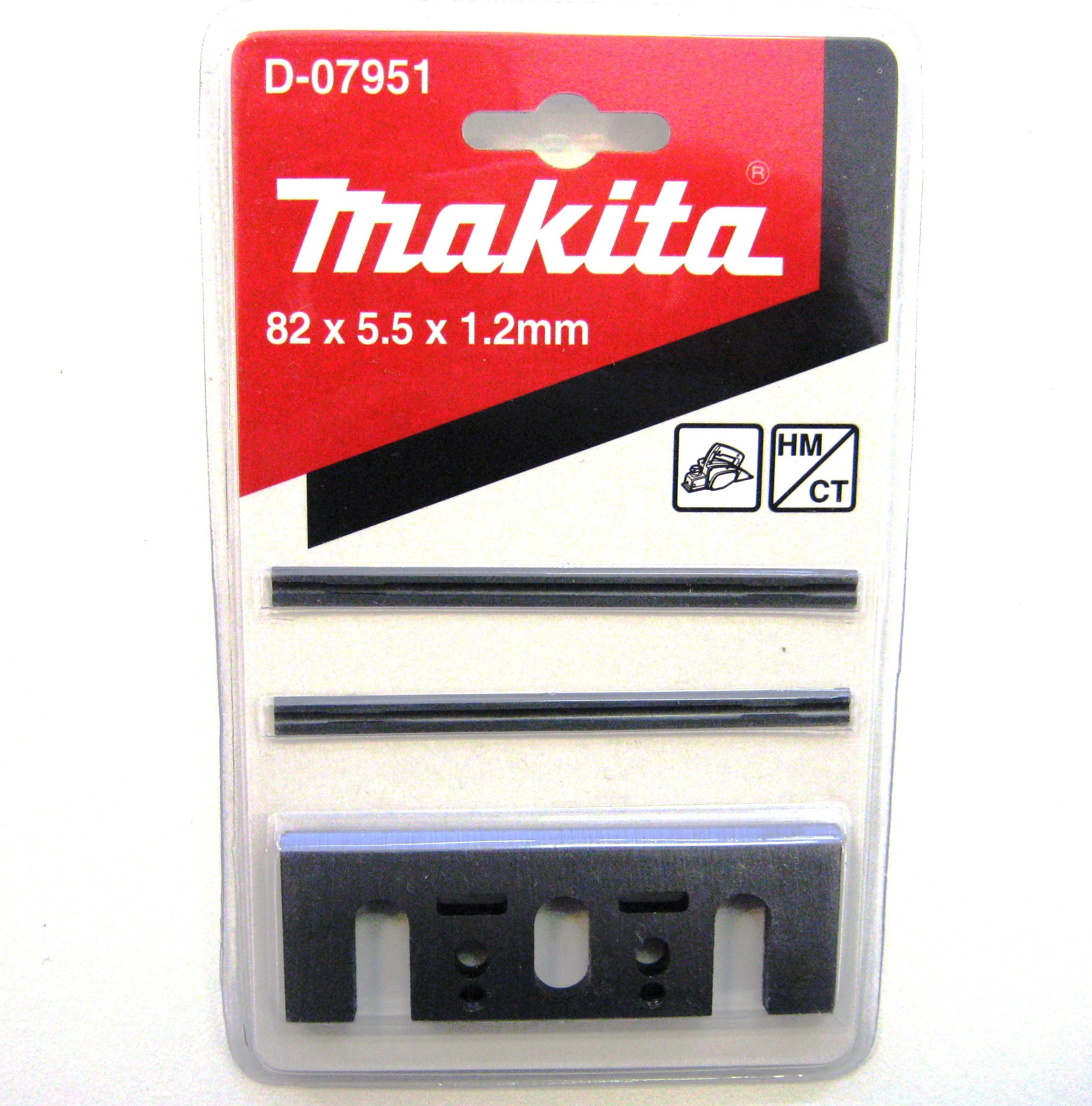 Купить Ножи для рубанка Makita 82 мм, 2 шт. (пластина+лезвие)