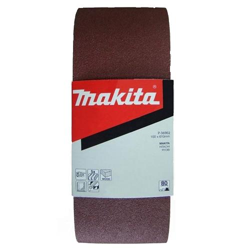 Лента шлиф. бесконечная Makita 100х610мм p120 шлифлента makita 100х610мм к100 5шт p 36918