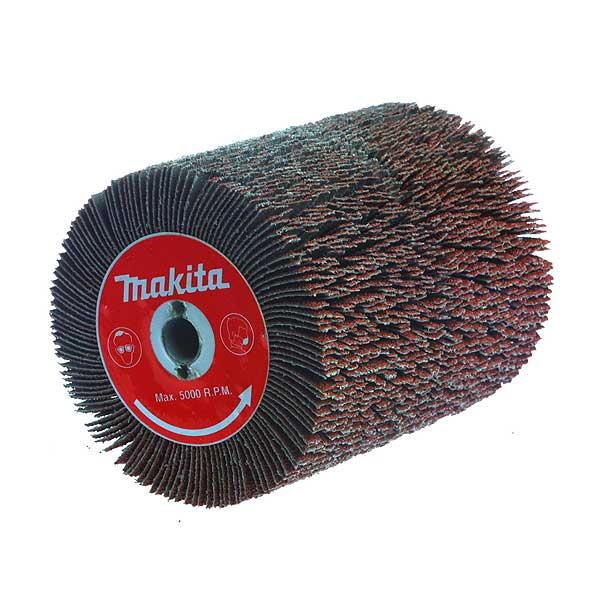 Щётка Makita 100 x 120 мм, абразивная k40, для 9741 лента шлифовальная makita p 36887 100 x 610мм k40 5шт