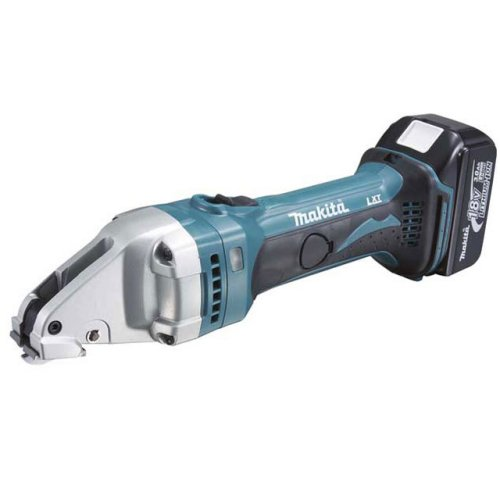 Аккумуляторные шлицевые ножницы по металлу Makita Bjs161rfe аккумуляторные цена и фото