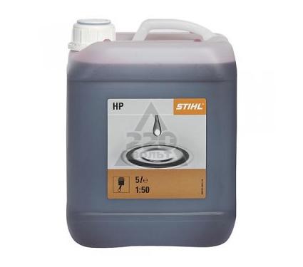 Масло моторное бензиновое STIHL для двухтактного двигателя HP, 5 л