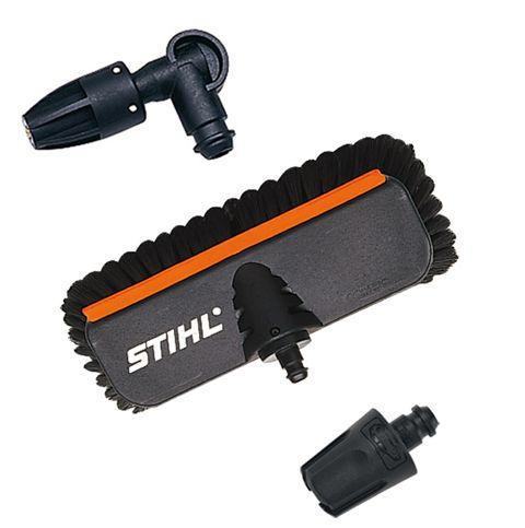Щетка для мойки Stihl для моек re 98-128 подметальная щетка stihl kb km